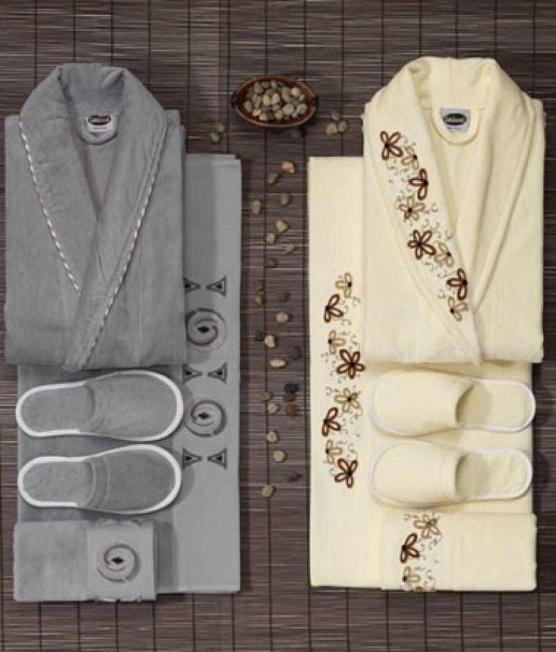bathrobe 8 pcs family set. Black Bedroom Furniture Sets. Home Design Ideas